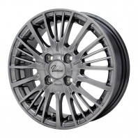 Verthandi YH-S25V 14x5.5 45 100x4 METALLIC GRAY + GOODYEAR EfficientGrip ECO EG01 165/70R14 81S