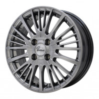 Verthandi YH-S25V 15x5.5 43 100x4 METALLIC GRAY + MOMO NORTH POLE W-1 175/60R15 81H スタッドレス【セール品】