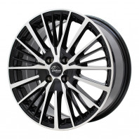 Verthandi YH-S25V 16x6.5 45 100x4 BK/POLISH + MOMO NORTH POLE W-2 205/45R16 87V XL スタッドレス セール品