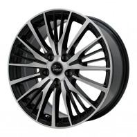 Verthandi YH-S25V 16x6.5 50 114.3x5 BK/POLISH + MOMO NORTH POLE W-2 205/45R16 87V XL スタッドレス セール品