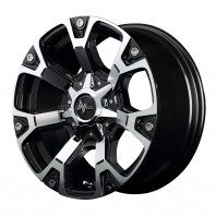 NITRO POWER WARHEAD 17x8.0 20 139.7x6 DGM/MC + BRIDGESTONE BLIZZAK DM-V3 265/65R17 112Q スタッドレス