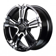NITRO POWER CROSS CLAW 16x7.0 40 114.3x5 BM/MC + ZEETEX WQ1000 235/70R16 106H スタッドレス【セール品】