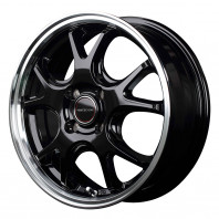 VERTEC ONE EXE5 15x5.5 43 100x4 GBK/RimP + MOMO NORTH POLE W-2 195/55R15 85H スタッドレス【セール品】